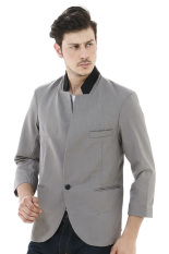 Beli Crows Denim Korean Blazer Style Ddfr Abu Abu Terbaru