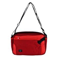 Crumpler The Dry Red No 2 Sling Bag Dark Red Merah Crumpler Diskon 50