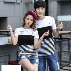 CS - KAOS COUPLE I T-SHIRT PASANGAN FOREVER FLOWER X