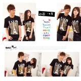Diskon Cs Kaos Couple T Shirt Pasangan New Paris Tower Black Couple Store Cs