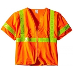 CStore Jackson Safety ANSI Class 3 Deluxe Style Polyester Safety Vest Withlime Prismatik-Intl
