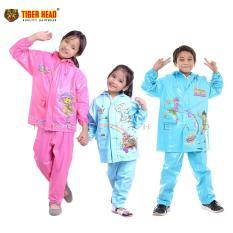 CUCI GUDANG JAS HUJAN CHILDREN RAINSULT TIGER HEAD - 68337 MURAH