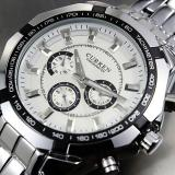 Jual Beli Curren Men S Stainless Steel Band Watch Silver Baru Hong Kong Sar Tiongkok