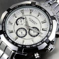 Ulasan Curren Men S Stainless Steel Band Watch Silver