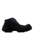 Spesifikasi Cut Engineer Iron Safety Boots Loafers Leather Hitam Murah