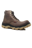 Situs Review Cut Engineer Safety Boots Hikers Slip Resistant Cokelat Tua