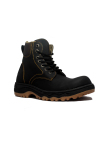 Jual Cut Engineer Safety Boots Iron Apple Leather Hitam Cut Engineer Online