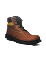 Harga Cut Engineer Safety Boots Powerlift Leather Brown Online Jawa Barat