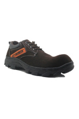 Jual Cut Engineer Safety Low Boots Lux Leather Cokelat Tua Jawa Barat