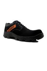Beli Cut Engineer Safety Low Boots Luxury Hitam Cut Engineer Asli