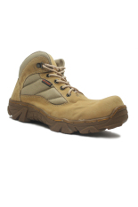 Cut Engineer Safety New Character Tactical Boots Suede Grey