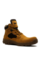 Cut Engineer Safety New Tactikal Boots Iron Suede Tan