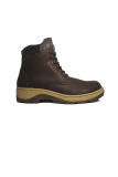 Cut Engineer Safety Shoes Boots Leather Cokelat Tua Diskon Akhir Tahun