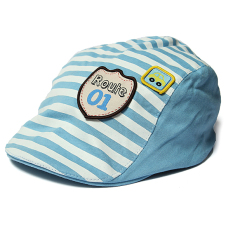 Toko Lucu Bayi Bayi Anak Gadis Garis Kapas Bisbol Cap Mencapai Puncaknya Baret Hat Casquette Light Biru Intl Oem Tiongkok
