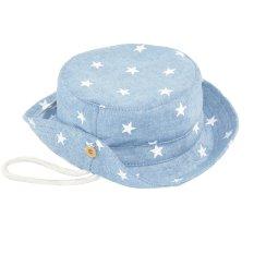 Cute Baby Kid Boy Girls Denim Bucket Gaya Musim Panas Sun Beach Hat Cap Perlindungan Matahari Bernapas untuk 6 Bulan- 3 Tahun Kids Light Blue-Intl
