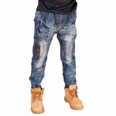Perbandingan Harga Cutevina Boys Fashion Long Jeans Denim Celana Panjang Anak 3 11Th Bc17023 Di Dki Jakarta