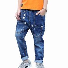 Jual Cutevina Celana Panjang Anak Cowok 4 13Th Motif Buttons In Front Bc17025 Antik