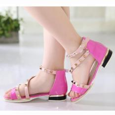 Beli Cutevina Fashion Girls Shoes Sepatu Cewek Trendy Pink Lc17013 Cutevina Online