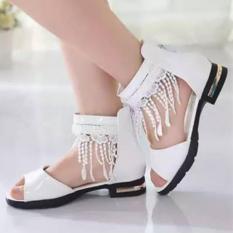 Jual Cutevina Girls Lace Shoes Sepatu Boots Brokat Cewek Putih Lc17012 Branded Original