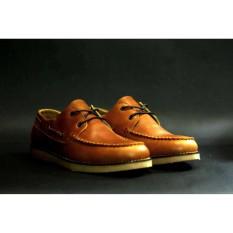 CVNY Sepatu Pantofel Casual Formal Kulit Pria - Slop Kickers Brodo Boot Formal Crocodile