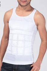 Harga Cyber 1 Buah Pria Pelangsing Rompi Baju Korset Pembentuk Tubuh Lemak Putih Oem Online