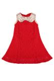 Harga Cyber Anak Perempuan Anak Perempuan Sequins Doll Leher Tanpa Lengan A Line Tank Dress Merah Oem Online