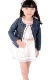 Spesifikasi Cyber Gadis Lengan Panjang Jeans Mantel Lace Cute Pesta Biru Lengkap Dengan Harga