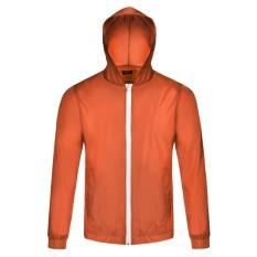 Cyber Sepeda Bersepeda Jaket Tahan Air Windproof Angin Mantel Hujan Mantel Orange Oem Diskon 40