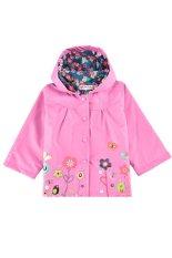 Harga Musim Semi Musim Gugur Cyber Hoodie Jaket Anak Perempuan Bunga Children Pakaian Bayi Pakaian Anak Perempuan Pakaian Mantel Hujan Berwarna Merah Muda Asli