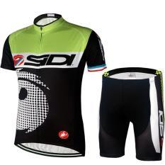 Spek Bersepeda Jersey Pakaian Set Lengan Pendek Bersepeda Olahraga Jersey Pendek Dengan Gel Pad Intl Oem