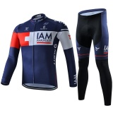 Jual Cycling Jersey Pants Sets Men Bike Long Sleeve Clothing Intl Murah