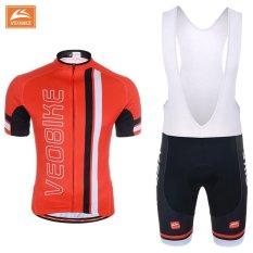 Harga Bersepeda Jersey Set Mtb Sepeda Pakaian Balap Sepeda Pakaian Seragam Merah Intl Seken