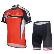 Bersepeda Kaus Breathable Sepeda Pakaian Equipaciones Ciclismo Gel Pad Sepeda Bib Celana Intl Intl Original