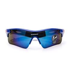 Harga Bersepeda Outdoor Sport Mountain Bike Mtb Sepeda Kacamata Sunglasses Memancing Kacamata Pria Wanita Biru Asli Tap