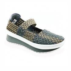 Cyntia Sepatu Rajut 506 - Abu