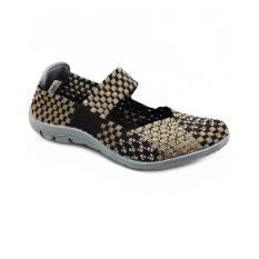 Beli Cyntia Sepatu Rajut A6300Y Coffe Cicil
