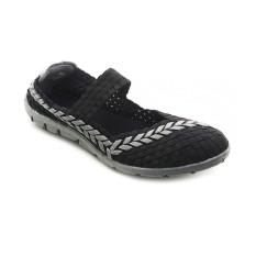Cyntia Sepatu Rajut Woman 551 - Hitam