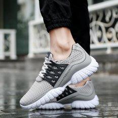 CYOU 2017 Sneakers Sepatu Olahraga MAX AIR Mens Atletik Lari untuk Pria (Abu-abu)-Intl