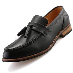 Harga Cyou Kulit Asli Pria Formal Sepatu A Inggris Loafers Slip On Hitam Intl Cyou Baru