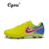 Harga Cyou New Arrival Plus Size Eur 37 49 Mens Short Nail Training Football Shoes High Quality Comfortable For Men Kasut Bola Sepak Lelaki Yellow Intl