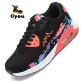 Spesifikasi Cyou Wanitas Outdoor Menjalankan Sport Udara Mesh Menjalankan Sepatu Untuk Wanita Bernapas Ringan Sneaker Empuk Sepatu Atletik Kasut Wanita Dark Merah Intl Dan Harganya