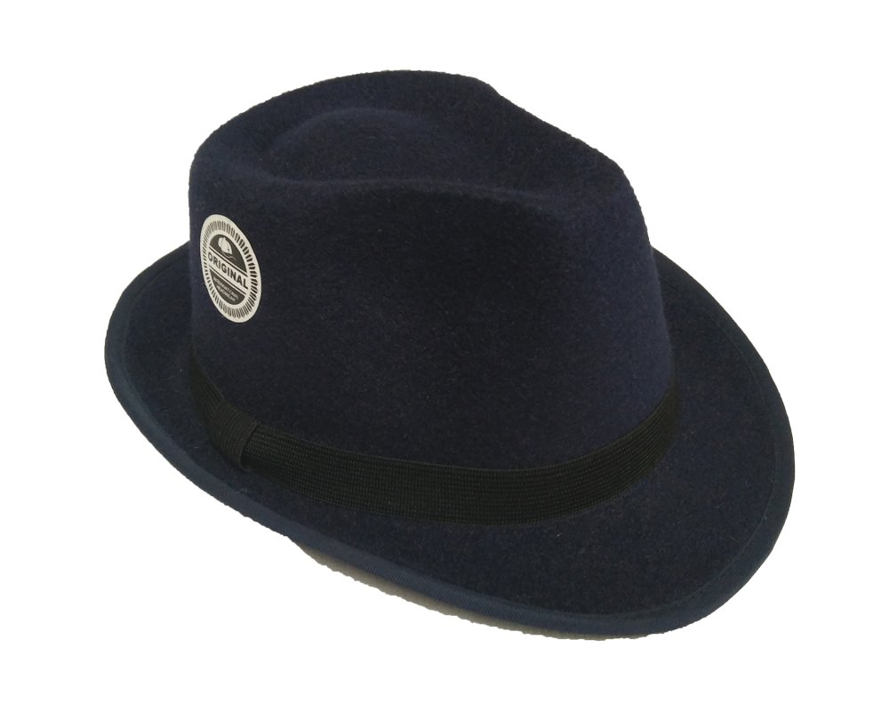 Pencarian Termurah D   D Fashion Fedora Hat For Kids   Topi Fedora Anak –  Biru 4193416b21
