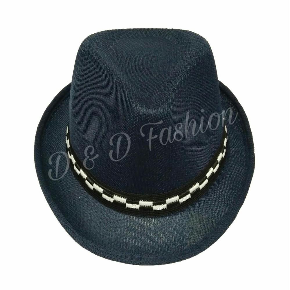 Beli sekarang D   D Fashion Fedora Hat For Kids   Topi Fedora Jazz Anak  Unisex 1ecd8a5ae8