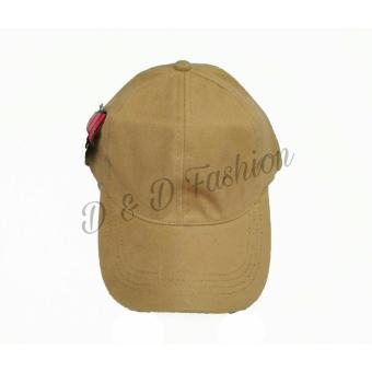 Bandingkan Toko D   D Fashion Topi Pria dan Wanita Unisex Baseball Cap Polos  Bahan Rapel be24b1ec00