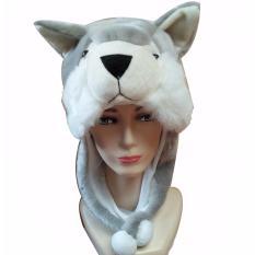 Animal Beanie Hat   Topi Boneka Dewasa Koala - Abu - AbuIDR39500. 6956d10ee5