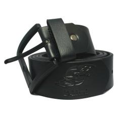 Harga D Island Belts Luxury Leather Black Pin Buckle Belt Yang Murah
