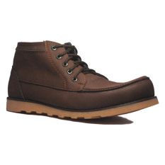 Jual Beli D Island Shoes Boots Projects Leather Cokelat