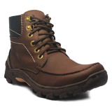 Harga D Island Shoes Boots Trackking Cowboy Dark Brown Merk D Island