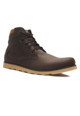 Spesifikasi D Island Shoes Boots Zipper Sole Rubber Comfort Dark Brown Paling Bagus
