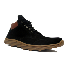 D Island Shoes Sneakers Boots England Suede Black D Island Diskon